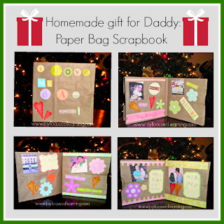 Joy Focused Learning: Paper Bag Scrapbook