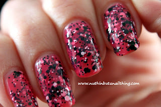 Maybelline Color Show Polka Dots Collection Swatches Speckled Pink