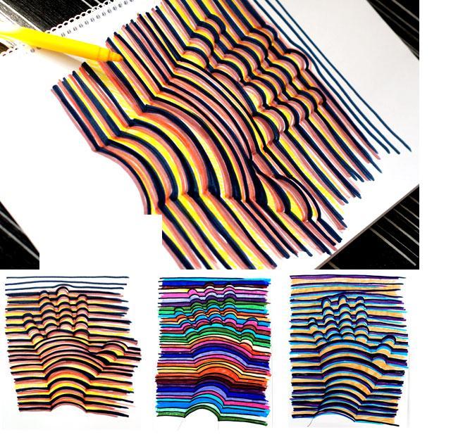 Объемные рисунки своими руками на бумаге - ФоксТел-Юг
