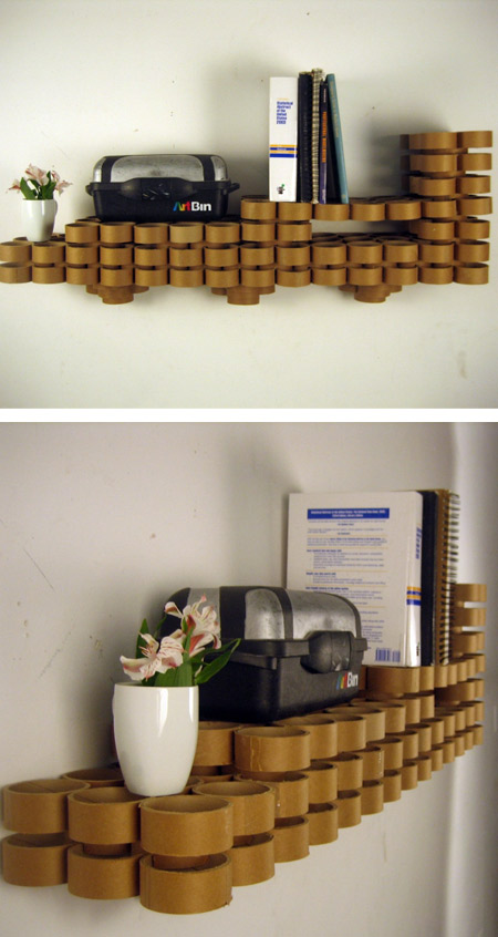 Made up of Cardboard Tubes Seen On www.coolpicturegallery.us