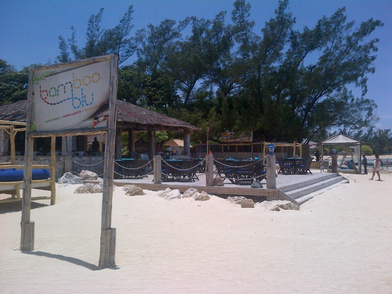 Bamboo Blu Is An Oceanfront Restaurant In Ocho Rios, Who Also Offers The  Beach Experience. Lounge Chairs Are 5$ Each ...