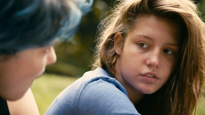 Léa Seydoux and Adèle Exarchopoulos in Blue is the Warmest Color