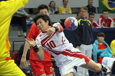Women, World Cup, Champion, China, Sports, Handball, Japan, Mayuko Ishitate, Jiaqin Zhao, Yin Wu, 2013, Nis, Match, Serbia,