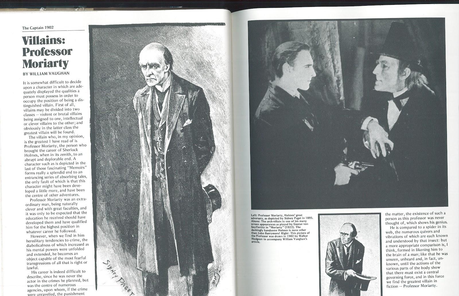 Sherlock Holmes Book Illustrations