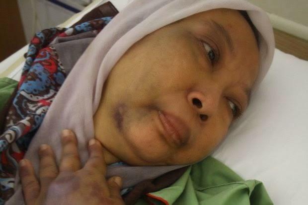 Isteri Di Belasah Ketika Baca Al Quran