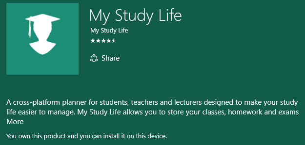 windows apps for college students