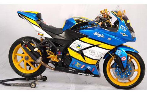 Modifikasi Kawasaki Ninja 250R