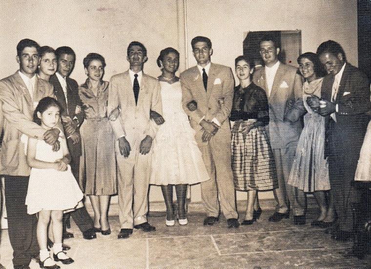 Fotografía Lucia Mejía Ossa a los 15 años en Pereira 1954