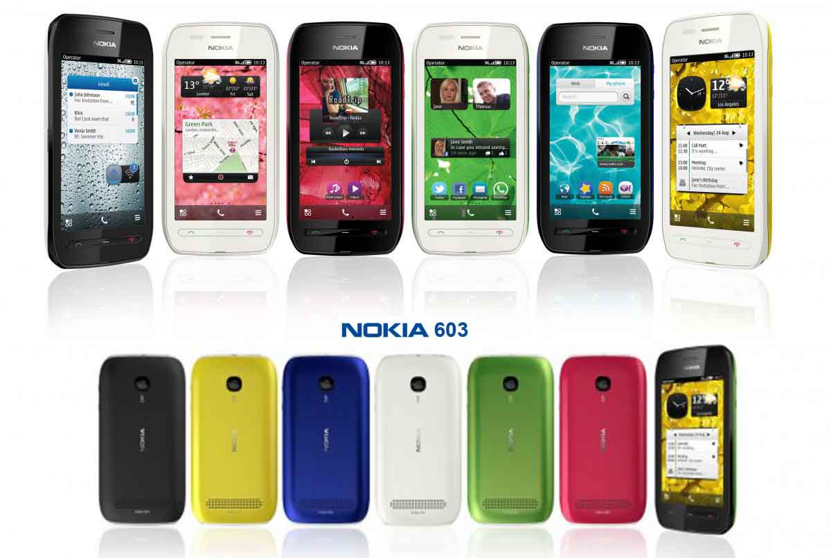 Nokia 603 Cell Phones Related Keywords Suggestions 2gb Black Brightly Colored All About Cool