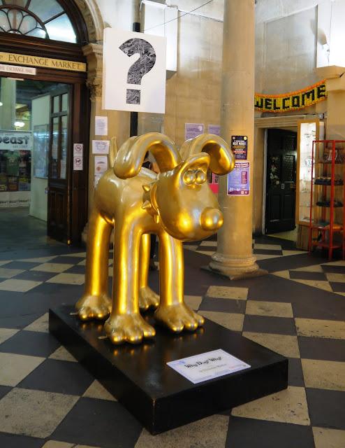 Why Dog Why Gromit, St Nicholas Market, Bristol