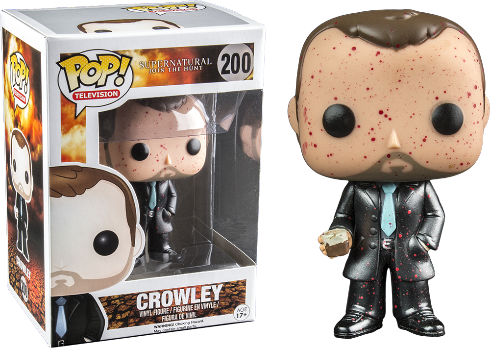 Funko Pop! Crowley Blood Splatter Supernatural