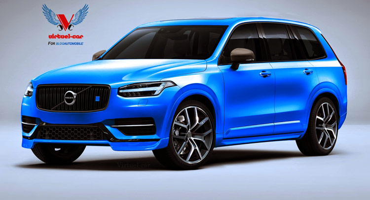 another stab at a 2016 volvo xc90 polestar suv. Black Bedroom Furniture Sets. Home Design Ideas