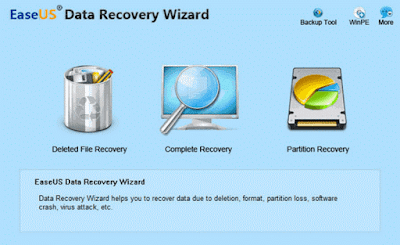 Download EaseUS Data Recovery Pro 9.8 for free