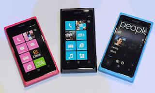 Ponsel Nokia Lumia 800