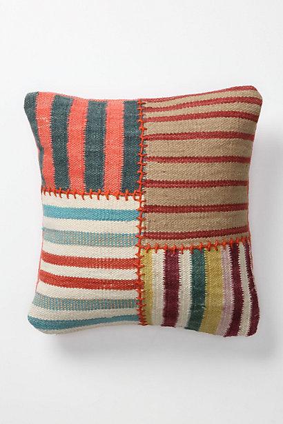 anthropologie inspired pillow. Black Bedroom Furniture Sets. Home Design Ideas