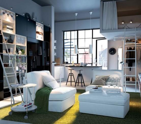 Modern Furniture IKEA Living Room Decorating Design Ideas