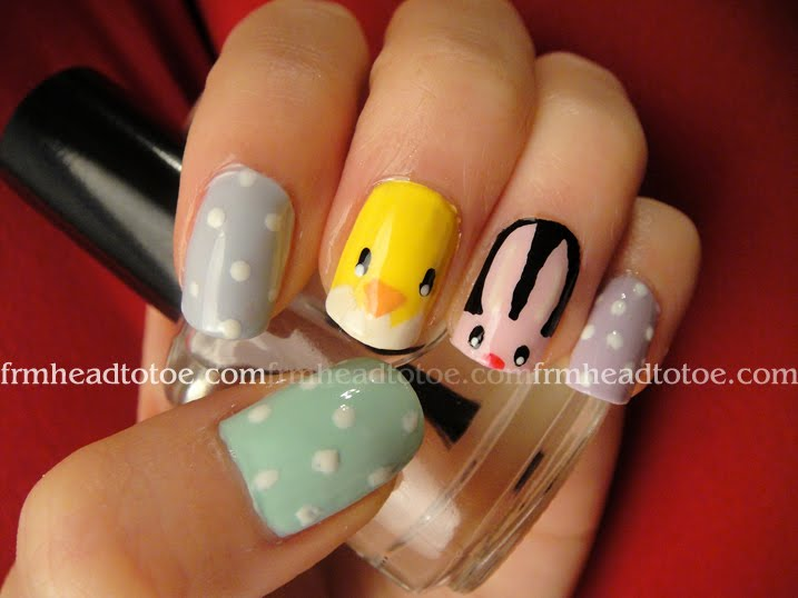 Trend factor defined nail art funky and wacky in d most stylish nail art funky and wacky prinsesfo Image collections