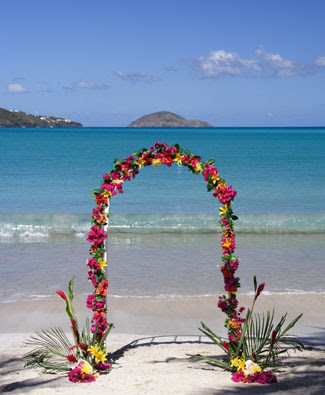 The caribbean guide planning caribbean weddings san for Best caribbean destination weddings
