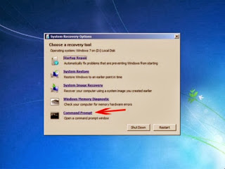 cara reset password windows 7 tanpa software dengan command prompt