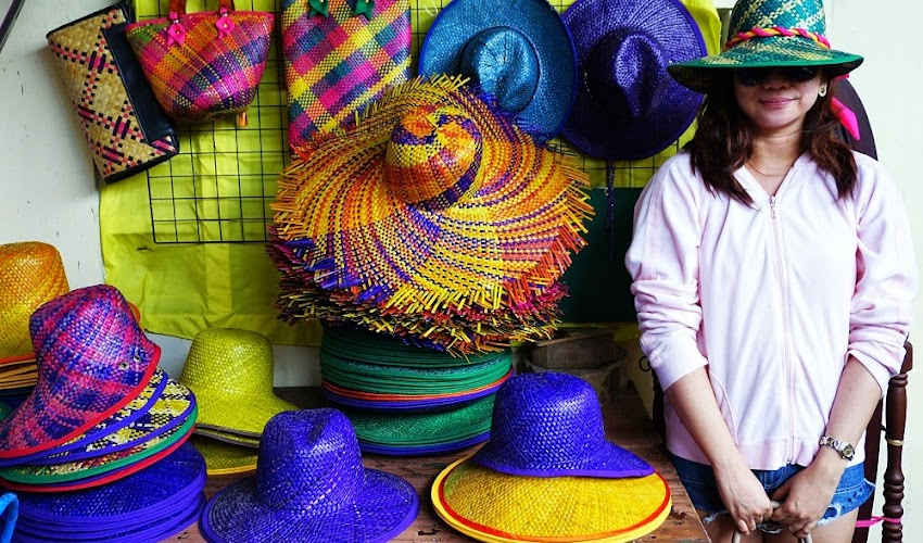 <Travel>#CavEAT: Pandan Sambalilo Weaving and Handicrafts Center