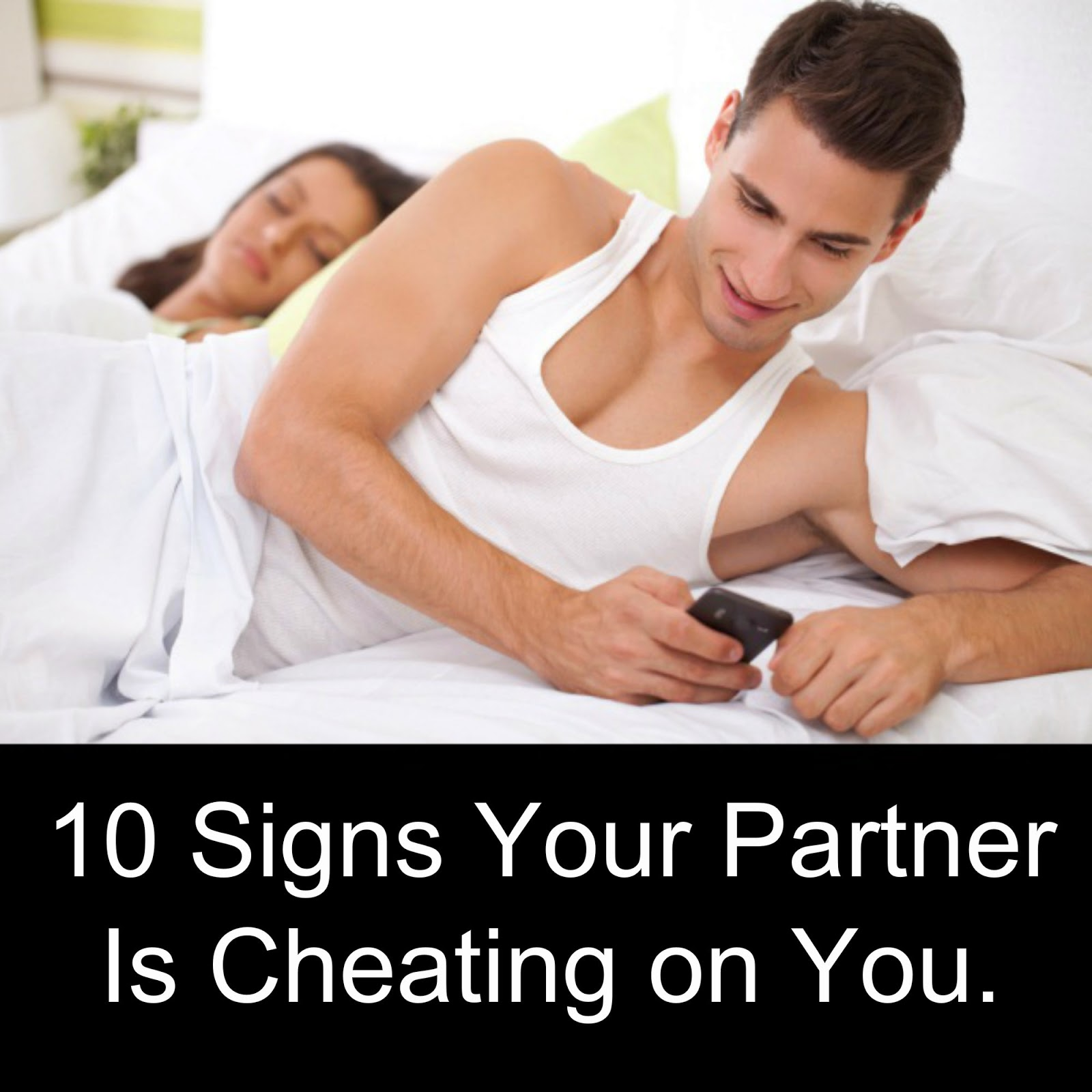 love signs your partner cheating