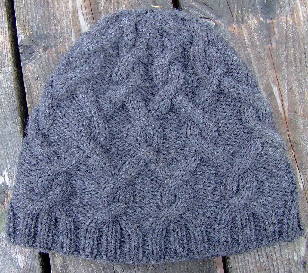 Knitting Patterns Caps : hat knitting pattern-Knitting Gallery