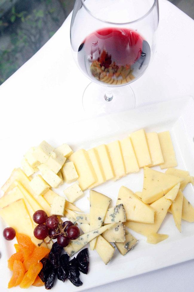 Makati Shangri-La's Circles Event Café Cheese Board