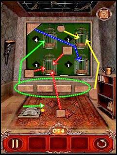 Escape Action Level 54 55 56 Solution