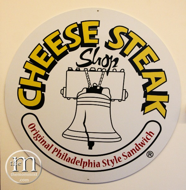 Cheese Steak Shop Logo