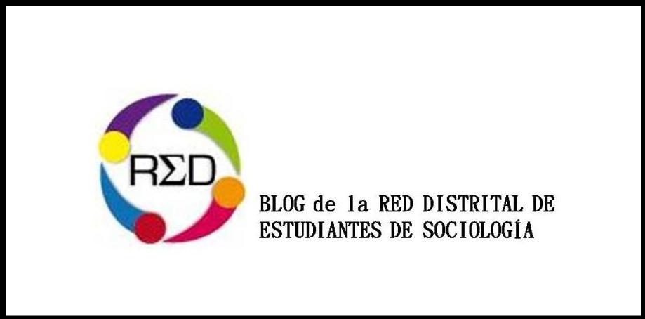 RED DISTRITAL DE ESTUDIANTES DE SOCIOLOGIA