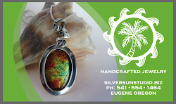 Awesome Handmade Jewelry crafted by my twin sister! Click on her business card to browse!