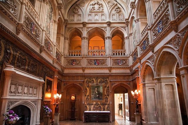 visitare Downton Abbey