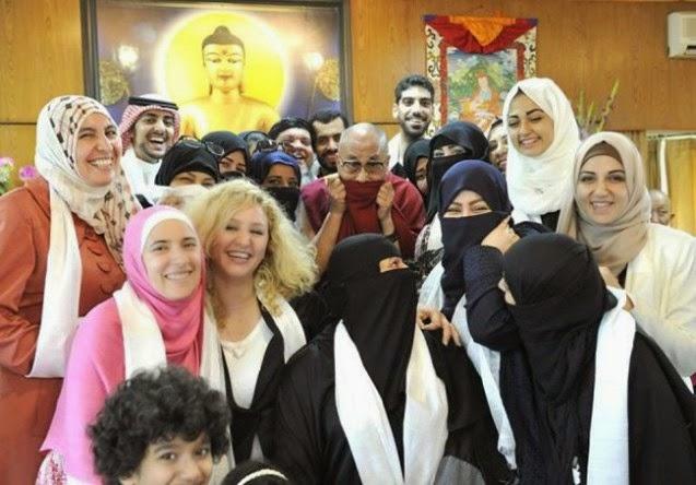 Divertidas fotografías de grandes personalidades Dalai Lama