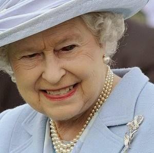 La reina reptiliana.