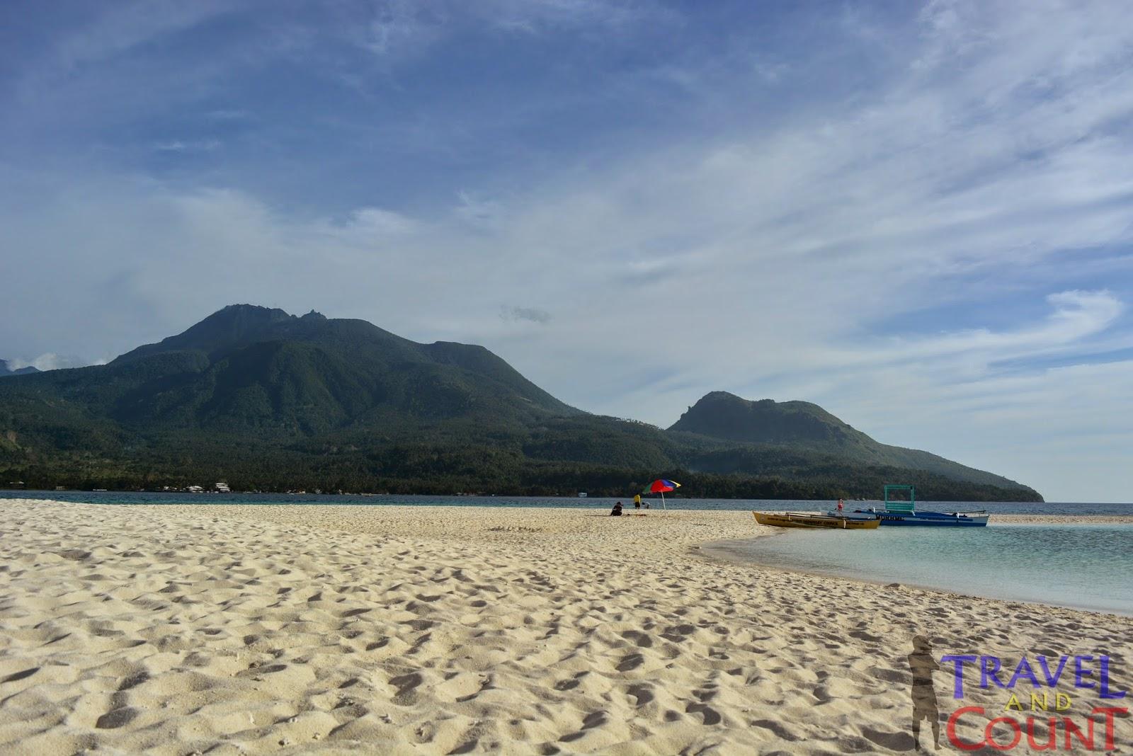 White Island Sandbar Camiguin view