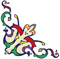 contoh ornamen motif tumbuhan