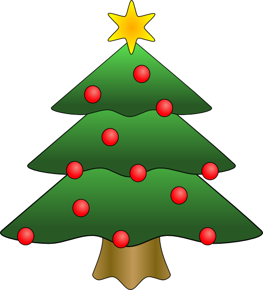 Christmas Tree in Snow clipart, photo, images, and cartoon ...