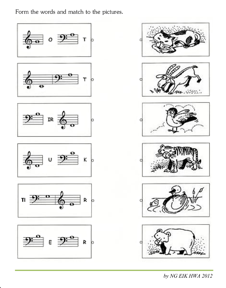 Music Worksheets For Kid Musical Instruments Esl