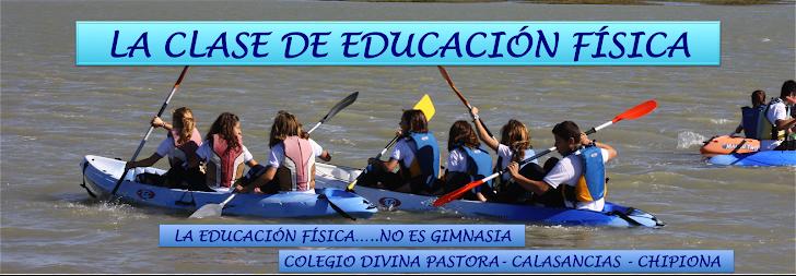 LA CLASE DE EDUCACION FÍSICA