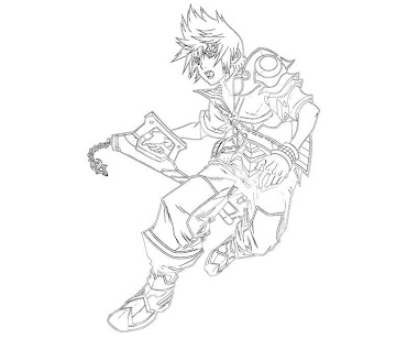 #8 Ventus Coloring Page