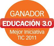 """3º Premio """"Mejor iniciativa TIC"""""""