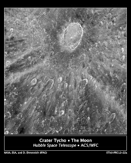 Crater Tycho take by Hubble