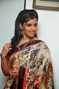 Syamala glamorous photos in saree-thumbnail-14