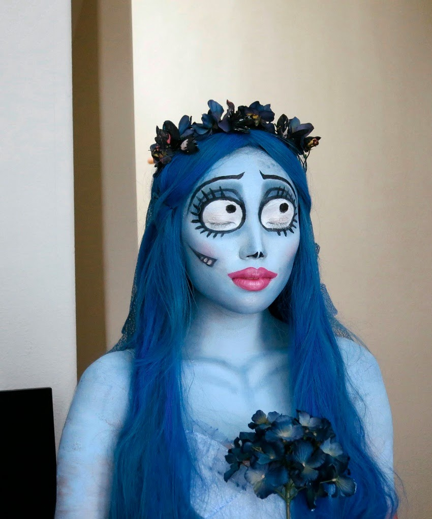 Novia Cadaver Disfraz Hacer. Stunning Maquillaje Halloween Novia ...