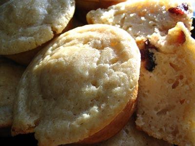 Cranberry Lemon Ricotta Muffins