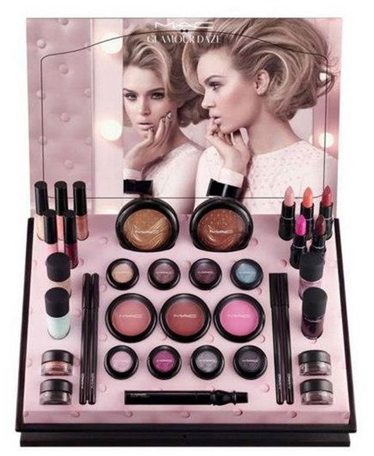 mac glamour daze collection with guilty passions