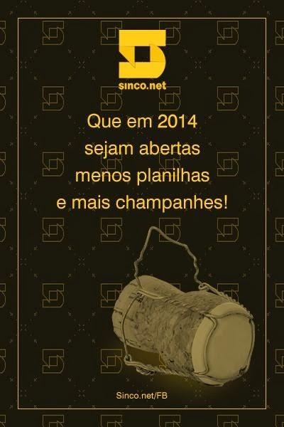 Que venha 2014!