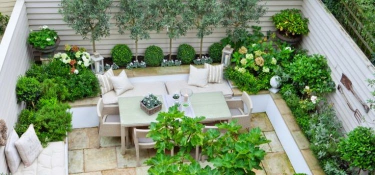 15 stunning garden designs and ideas for small gardens for Garden ideas for small gardens