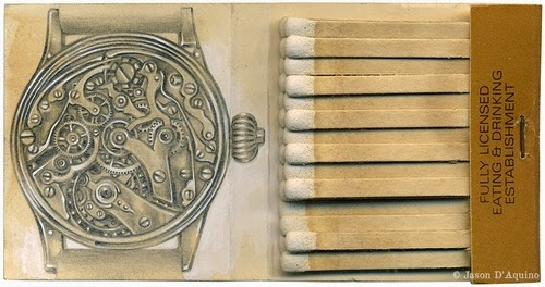 18-Watch-Jason-D-Aquino-Vintage-Matchbook-Drawings-www-designstack-co