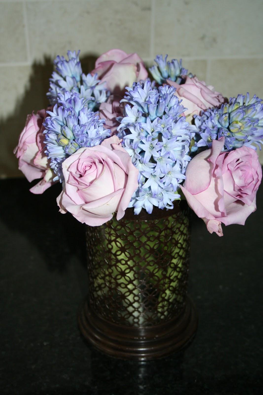 Unforgettable Floral: Purple and Blue flower arrangements